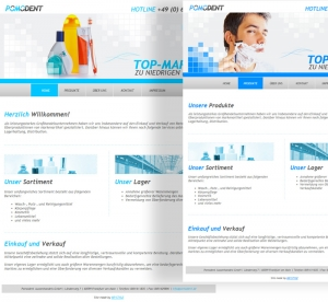 Pomodent - Homepage